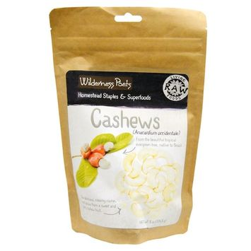 Wilderness Poets, Cashews, 8 oz (226.8 g)
