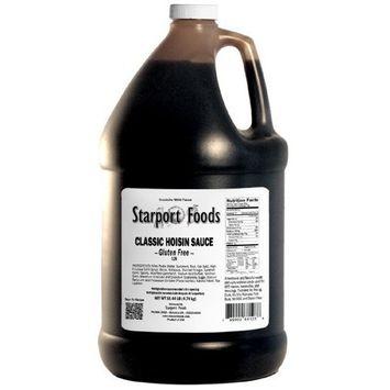 Starport Foods Classic Hoisin Sauce - Gluten Free, 1 gallon (NET WT10.4 lb, 166 oz)