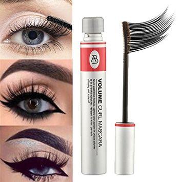 Kanzd Cosmetic Black Fiber Mascara Makeup Eye Curling Eyelash Waterproof Extension Curling Eye Lashes Lasting