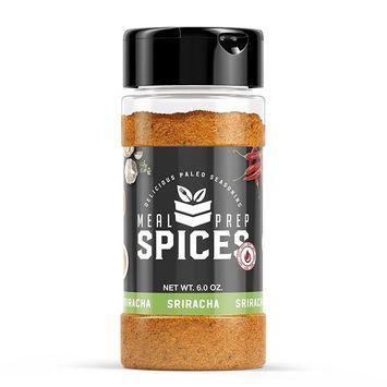Meal Prep Spices Sriracha Seasoning - Paleo, Kosher, and Gluten Free - One (1) 6oz Bottle