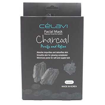 Celavi Essence Facial Mask Paper Sheet Korea Skin Care Moisturizing 6 Pack