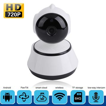 Wireless HD 720P Network WiFi IP Camera Webcam IR Night Vision Baby Monitor Two Way Audio Surveillance Camera for Home Security