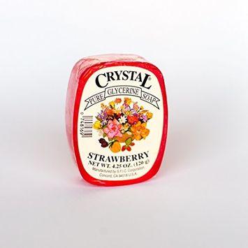 Crystal Glycerine Soap Bars Strawberry (24 bars)