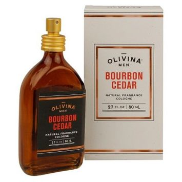 Olivina® Men Bourbon Cedar Natural Fragrance Cologne - 2.7 oz