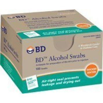 Alcohol Swabs, 100 Foil Wrap Wipes/Box