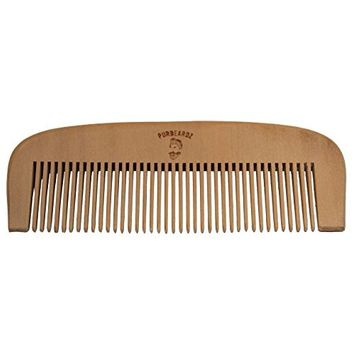 PurBeardz Wooden Hair Comb - Great Comb for Beard and Mustache for Men
