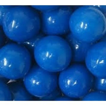 Candy Shop Blue 1-Inch Gumballs (3 Pound)