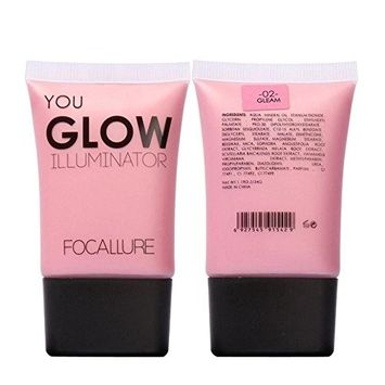 FTXJ Glow Highlight Powder Liquid Illuminator Face Makeup Bronzer