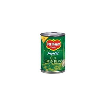 DEL MONTE GREEN BEANS VEGETABLES FRESH CUT CANNED 15.25 OZ