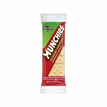 An Item of Munchies Jalapeno Cheddar Sandwich Crackers (1.38 oz, 32 ct.) - Pack of 1