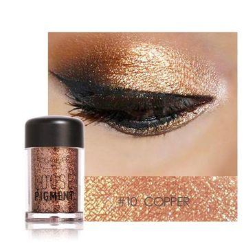 12 Colors Natural Eye Shadow Makeup Cosmetic Pearl Metallic Smoky Eyeshadow Palette
