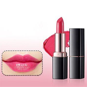 Lip Stick Pink Long Lasting Waterproof Fashion Women Beauty Makeup by Molie