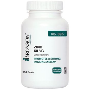 Bronson Vitamins Zinc 60 mg