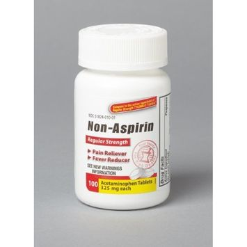 Acetaminophen - Tylenol Strength Regular Strength Tablets 325 mg/100/Bottle [100/Bottle,Regular Strength Tablets 325 mg] [{