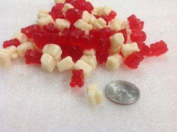 Beulah's Candyland Gummi Polar Bear Cubs Peppermint gummi bears mini gummy bears 2 pounds