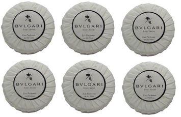 Bvlgari au the blanc lot of 1.76oz bars of Resort Soap Total of 10.56oz (Pack of 6)