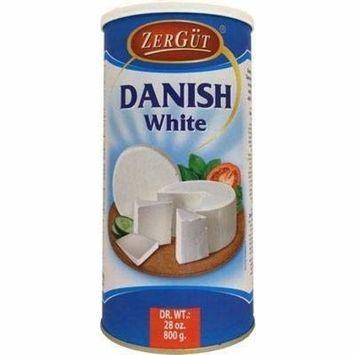 ZerGut Danish White Cheese 28 oz, 800 g