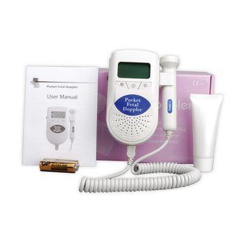 LCD Backlight Sonoline B Pocket Fetal Doppler Baby Heart Monitor Portable