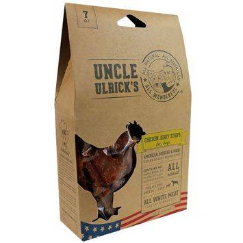 Uncle Ulrick's Natural Chicken Jerky Strips Dog Treat size: 7 Oz