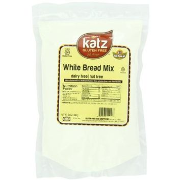 Katz Gluten Free White Bread Mix, 24 Ounce (Pack of 6)