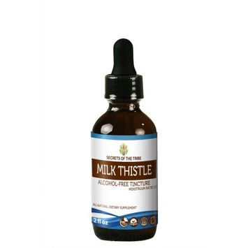 Nevada Pharm Milk Thistle Tincture Alcohol-FREE Extract, Organic Milk Thistle (Silybum marianum) Dried Seed 2 oz