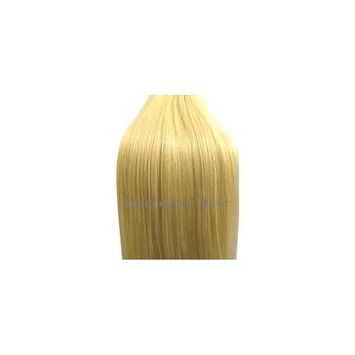 Supermodel - 18 Inch Bleach Blonde (Col 613). Full Head Human Hair Weave For Sew In Or Glu