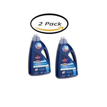 PACK OF 2 - Bissell Deep Clean + Protect Carpet Cleaner, 64.0 FL OZ