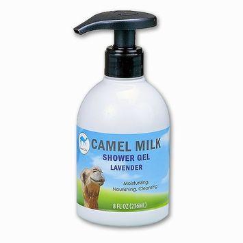 Camel Life/Camel Milk Shower Gel – Lavender/organic restorative nutrient bath and shower gel/Pump bottle – 8 Fl Oz