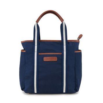 Diaper Bag for Mommy (Blue-White)