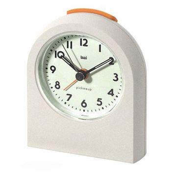 B.a.i. Bai PickMeUp Alarm Clock, Matte White