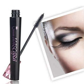Sandsitore Mascara Grows Thick Original Curly Warped Waterproof Non Seasick Shiny, Black 0.2 oz