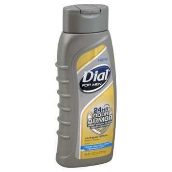 Dial For Men 24Hr Odor Armor Antibacterial Body Wash by Dial