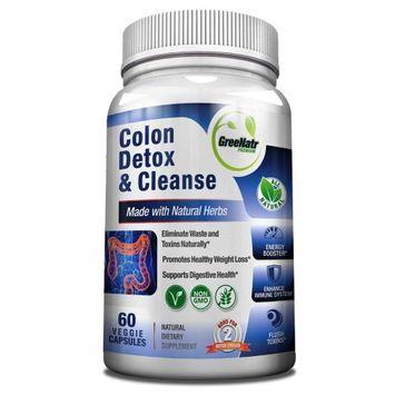 Greenatr Colon Detox & Cleanse - 2 x 14 Day Detox