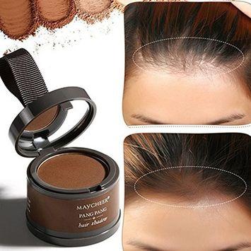 Hair Shadow Powder,Hair Building Fibers Makeup Long Lasting Hairline Shadow Powder Hair Repair Powder Highlights Reissue Grooming Hairline