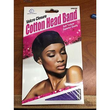 Dream World Velcro Closure Cotton Head Band Soft Texture Quality Dre209
