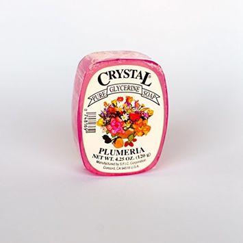 Crystal Glycerine Soap Bars Plumeria (24 bars)