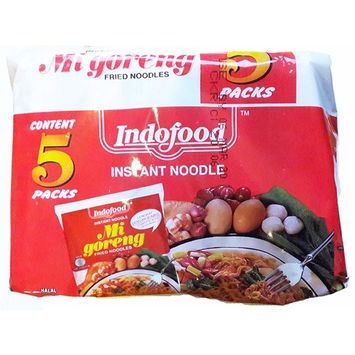 THE ORIGINAL INDOMIE by Indofood Instant Fried Noodles Mi goreng (Original, 5 packs)