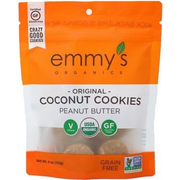 Emmy's Coconut Cookies Peanut Butter