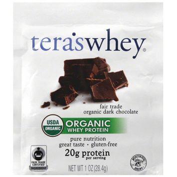 Teraswhey Whey Protein, Organic, Fair Trade Organic Dark Chocolate, 1 OZ (Pack of 12)