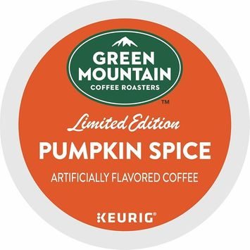 Green Mountain Coffee Coffee Single Serve K-Cup Pod Flavored Coffee, Pumpkin Spice, 32 Count [Pumpkin Spice]