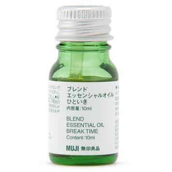 MUJI - Blended Essential Oil (Break Time) 10ml