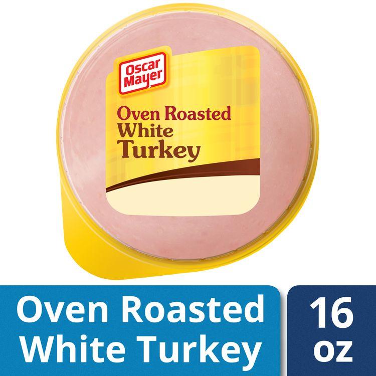 Oscar Mayer Oven Roasted White Turkey, 16 oz Vacuum Pack