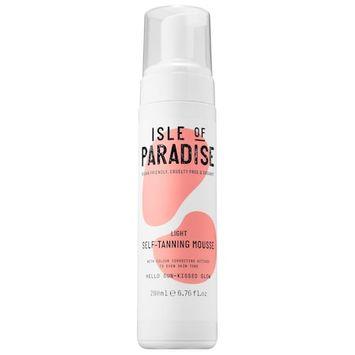 Isle of Paradise Self-Tanning Mousse Light 6.76 oz/ 200 mL