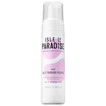 Isle of Paradise Self-Tanning Mousse Dark 6.76 oz/ 200 mL