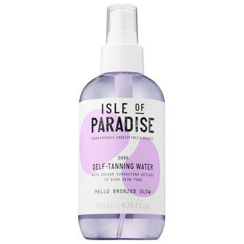 Isle of Paradise Self-Tanning Water Dark 6.76 oz/ 200 mL
