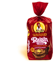 Sunmaid Raisin Cinnamon Swirl Bread