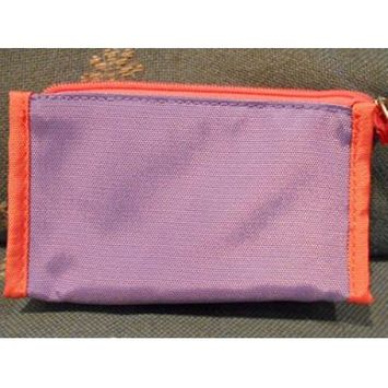 Clinique Purple and Orange Makeup Cosmetic Case