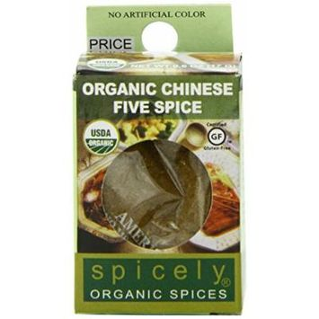Spicely Organic Chinese Five Spice Seasoning - Compact