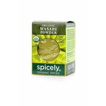 Spicely Organic Wasabi Seasoning - Compact