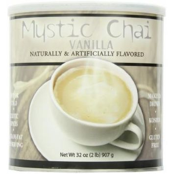 Mystic Chai Vanilla Tea, 2 lb. can Each (pack of 2)